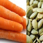 Carrots, pumpkin seeds can make your skin glow