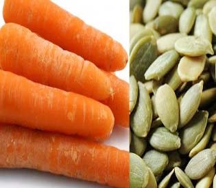 hromedia - carrot-pumpkin-seeds-