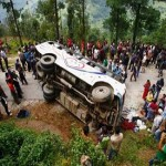 12 killed in bus accident in western Nepal