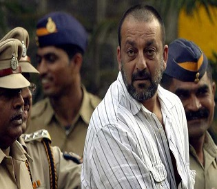 hromedia Actor Sanjay Dutt out on parole, second time in three months2