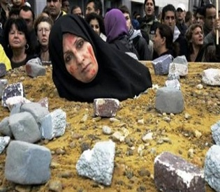 hromedia Afghan police rescue woman from Taliban stoning intl. news2
