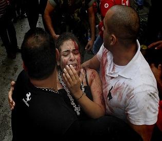 hromedia Beirut bombing death toll rises to seven arab uprising1