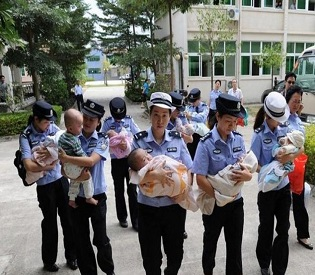 Going Home: The Babies Rescued From Human Traffickers