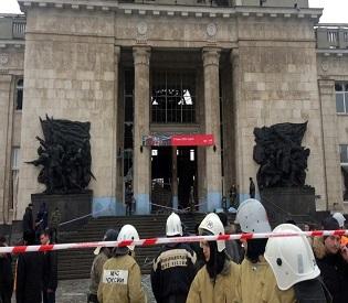 hromedia Female suicide bomber kills 18 at Russian train station eu news2