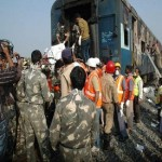 Fire on express train in southern India kills at least 26
