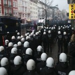German protest over Rote Flora center turns violent
