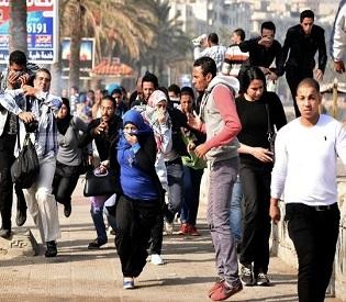 hromedia New Egypt draft charter sets powers for military arab uprising2