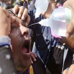 Police battle Bangkok protesters with tear gas