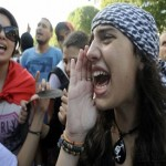 Standoff by police, protesters in Tunisia