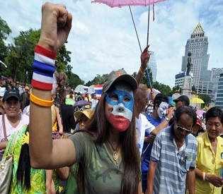 hromedia Thai opposition protesters gear up for fresh mass rally intl. news3