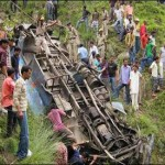 Bus plunges into gorge in India, killing 30 people