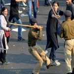 India: UP cops caught on camera thrashing, kicking women protesters