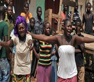hromedia Clashes kill 43 people in Central African Republic capital Bangui intl. news2