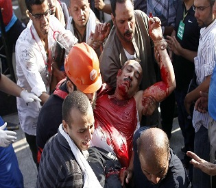hromedia Death toll in latest Egypt clashes rises to 17 arab uprising2