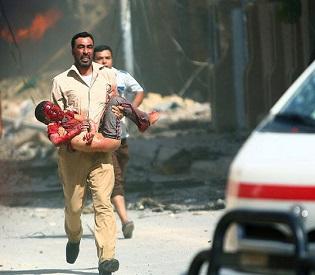 hromedia Five car bombs rip through Baghdad intl. news1