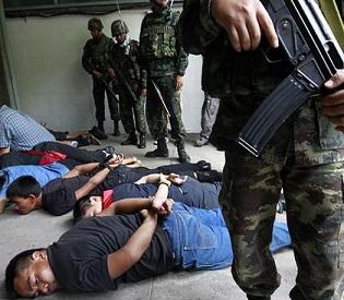 hromedia Several anti-government protesters injured in Bangkok intl. news2