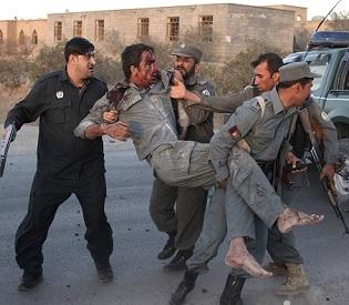 hromedia Suicide car bomb kills 2 in east Afghanistan intl. news2