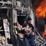 Over 600 people evacuated from Syria's embattled Homs