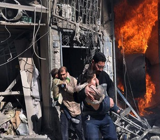 hromedia 600 evacuated from blockaded Syrian city of Homs arab uprising2