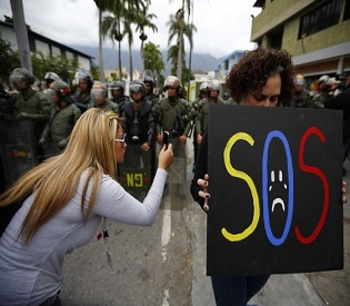 hromedia Venezuela arrests Sebin intelligence agents in protesters' deaths intl. news2
