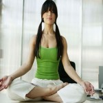 Meditation helps reduce anxiety and relieve workplace stress
