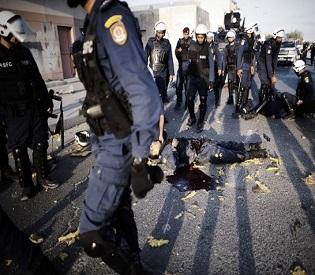 hromedia 3 policemen killed in Bahrain blast arab uprising2