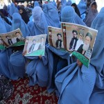 Afghan woman bids for power to halt slide in rights