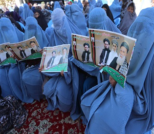 hromedia Afghan woman bids for power to halt slide in rights intl. news2