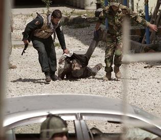 hromedia Afghanistan 5 suicide bombers killed after 4-hour battle intl. news2