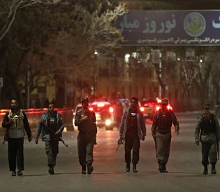 hromedia Afghanistan hotel attack kills 9, including 4 foreigners intl. news2