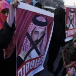 Bahrainis stage anti-government protest against 'sectarian discrimination'