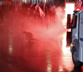 hromedia Clashes in Istanbul as Turkish teen injured during protest dies eu news2