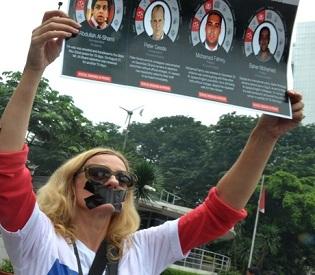 hromedia Egypt to resume trial of Jazeera journalists amid outcry arab uprising2