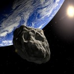 Giant asteroid to pass between Earth and moon tonight