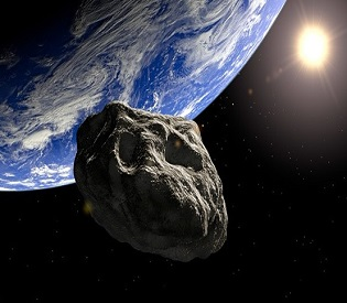 hromedia Giant asteroid to pass between Earth and moon tonight environment2