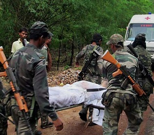 hromedia Indian Maoists attack kills 20 security personnel in Chhattisgarh intl. news2