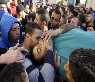hromedia Israeli forces kill four Palestinian militants in refugee camp raid arab uprising2