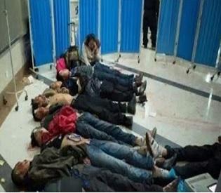hromedia Mass Stabbing at China Train Station Leaves 28 Dead, 113 Injured intl. news1