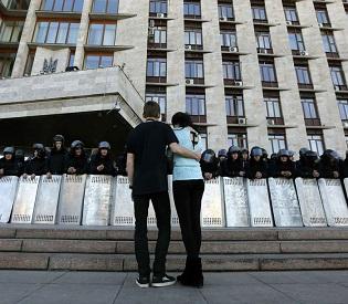 hromedia Russia says Ukrainian troops loyal to Kiev have all left Crimea eu news2