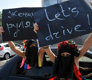 hromedia Saudi women plan to campaign in new push for 'right to drive' womens rights1