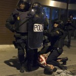 Spain: Anti-austerity protesters clash with police in Madrid, over 100 injured