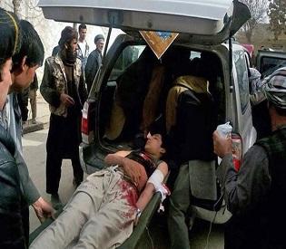 hromedia Suicide bomber kills 15 in northern Afghan market intl. news2