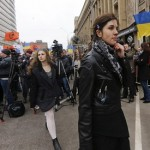 Thousand march in Moscow against Russian 'occupation' of Crimea
