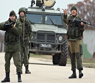 hromedia Ukraine crisis Political, military standoff escalates in Crimea region intl. news1