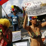 Venezuelan protesters keep up momentum despite 'carnival season'