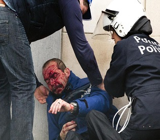 hromedia Belgium Labour protests sparks deadly clashes in Brussels eu news2