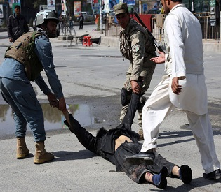 hromedia Bomb blast kills 1, wounds 2 in southern Afghanistan intl. news2