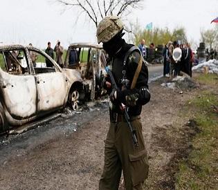 hromedia 'Deadly shootout' in east Ukraine shatters Easter truce eu news3
