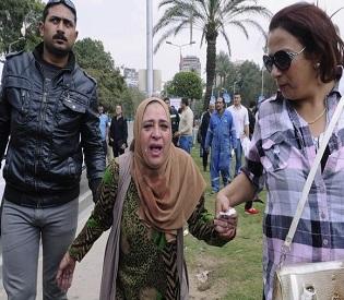 hromedia Egypt Bombs at Cairo University hit riot police, 2 dead Arab Uprising2
