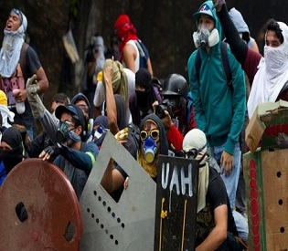 hromedia Hope fades as violence continues in Venezuela on first day of peace talks intl. news3